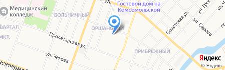 Московский психолого-социальный университет на карте Йошкар-Олы