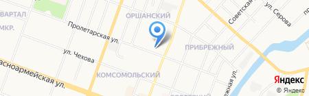 Банк ОТКРЫТИЕ на карте Йошкар-Олы