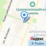ЙОШКАР-ОЛА на карте Йошкар-Олы