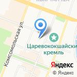ВОКС на карте Йошкар-Олы