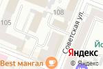 Схема проезда до компании НИКА-ЭКО в Йошкар-Оле
