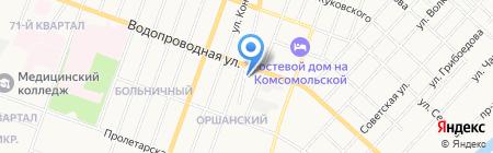Йошкар-Олинское художественное училище на карте Йошкар-Олы