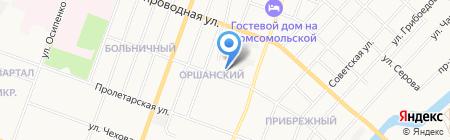 Жилищный союз Республики Марий Эл на карте Йошкар-Олы