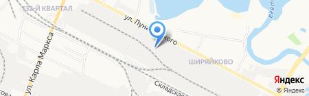 Центр мебельной фурнитуры 12 на карте Йошкар-Олы
