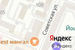 Схема проезда до компании WESTFALIKA SHOES в Йошкар-Оле