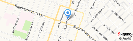 Ладья на карте Йошкар-Олы
