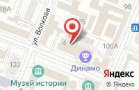 Схема проезда до компании A-LAWRUS в Астрахани