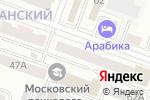 Схема проезда до компании Дорожник в Йошкар-Оле