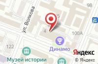 Схема проезда до компании Status в Астрахани
