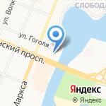 Российский двор на карте Йошкар-Олы