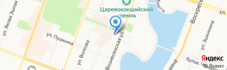 ГлавСпорт на карте Йошкар-Олы