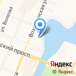 Марийский Республиканский театр-центр для детей и молодежи на карте Йошкар-Олы