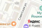 Схема проезда до компании Гардиан в Йошкар-Оле