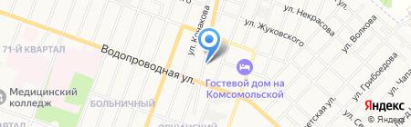 Авторемонт-ГАЗ на карте Йошкар-Олы