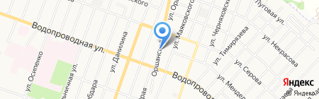 АЗС на карте Йошкар-Олы