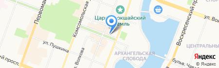 Пробизнесбанк на карте Йошкар-Олы