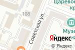 Схема проезда до компании Русский размер в Йошкар-Оле