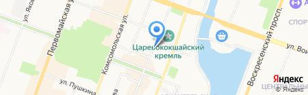 СаппортПрофи на карте Йошкар-Олы
