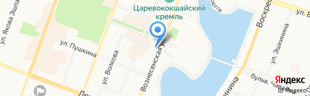 Club Travel на карте Йошкар-Олы