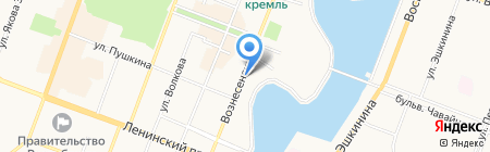 Аварийно-диспетчерская служба электросетей на карте Йошкар-Олы