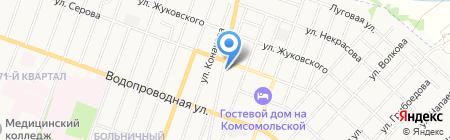 Движение на карте Йошкар-Олы