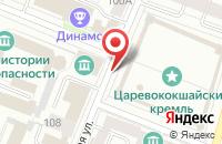 Схема проезда до компании Леди Плюс в Йошкар-Оле
