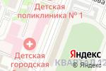 Схема проезда до компании Строитель в Йошкар-Оле