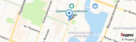 АКБ Пробизнесбанк на карте Йошкар-Олы