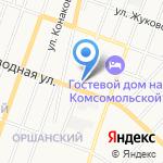 Отдельный батальон ДПС ГИБДД на карте Йошкар-Олы