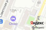 Схема проезда до компании Рубин в Йошкар-Оле