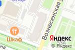 Схема проезда до компании ИнтерСвет в Йошкар-Оле