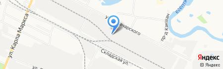 Пищекомбинат на карте Йошкар-Олы