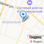 Почтовое отделение №4 на карте Йошкар-Олы