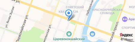 Бьюти Хауз на карте Йошкар-Олы