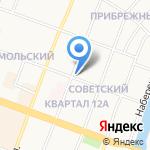 Шторы на Волкова на карте Йошкар-Олы