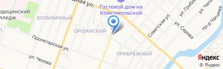 Эльмаз на карте Йошкар-Олы