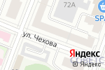 Схема проезда до компании Александрийские двери в Йошкар-Оле
