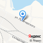Ширяйково на карте Йошкар-Олы