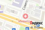 Схема проезда до компании ИНВИТРО в Йошкар-Оле