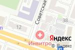 Схема проезда до компании Питер.ру в Йошкар-Оле