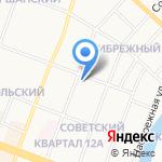 БТИ Волжского района на карте Йошкар-Олы