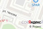 Схема проезда до компании Кухни Премьер в Йошкар-Оле