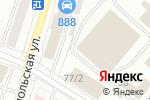 Схема проезда до компании Развал схождение 3D в Йошкар-Оле