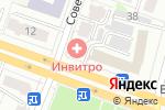 Схема проезда до компании Кухни и не только в Йошкар-Оле