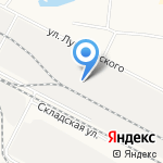 Дубрава + на карте Йошкар-Олы
