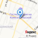 Авто-стоп на карте Йошкар-Олы