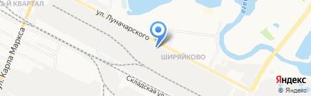 Марто на карте Йошкар-Олы