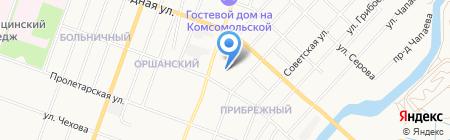 Развал схождение 3D на карте Йошкар-Олы
