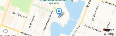 Росгосстрах на карте Йошкар-Олы