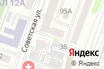 Схема проезда до компании МАТУР, ЧДОУ в Йошкар-Оле